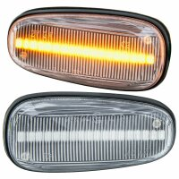 LED Indicators for all Opel Astra G Opel Zafira a Clear Glass [71011]