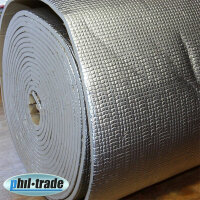 1m ² Insulation Mat anti Vibration Bitumen Replacement 1x1 with Thermal Acoustic