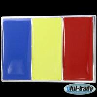 3D Chrome Emblem Sticker Flag Romania Romania European Cup World Cup L079