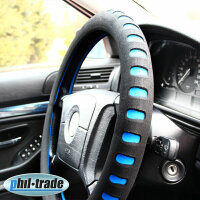 Steering Wheel Cover Protector Cover Foam Soft Soft Black Blue 37 38 39 CM