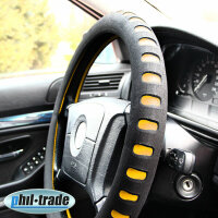 Steering Wheel Cover Protector Cover Foam Soft Soft Black...
