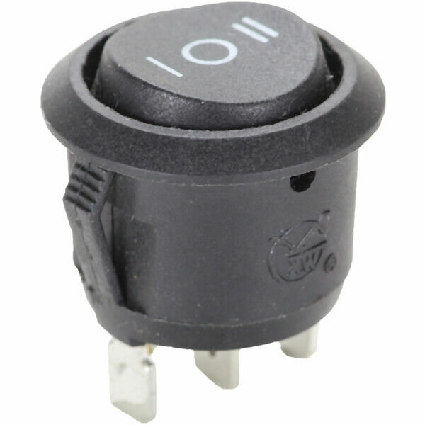 3 Pin Flip Change Switch 12 24 V Volt Car Black A From on-off-On E04