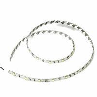 100cm LED Leiste Strip Lichtleiste 12V Xenon Weiß  30 x 5050 SMD Platine Weiß