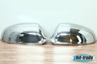 1Set Stainless Steel Mirror Caps V2A Chrome for Opel Astra J Cascasda Blinds