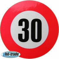 30 km / H Speed Sticker Speed Car Truck Bus Car