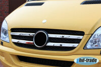 Chrome Grill Trim Stainless Steel for Mercedes Sprinter W906 2006-2013 Grille