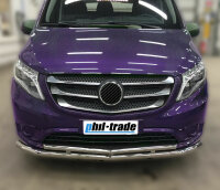 Stainless Steel Grille Trim Chrome for Mercedes Vito W447 2014-2019