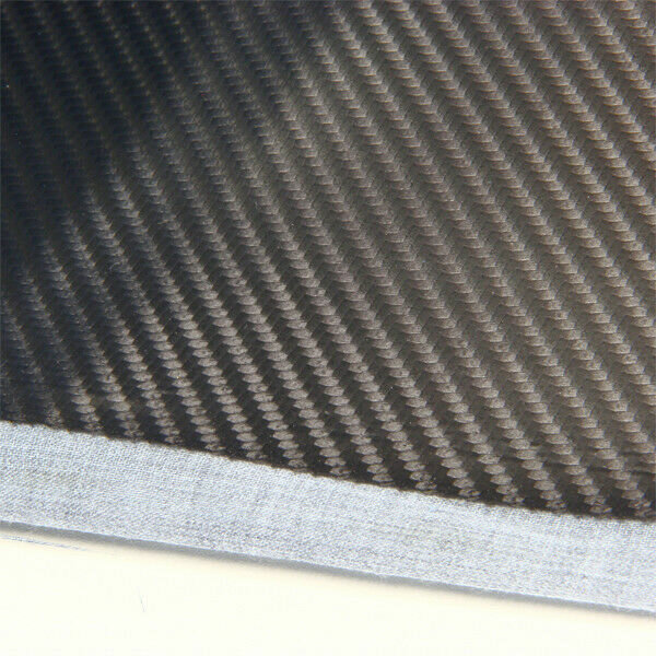 Carbon Look Cover Cloth Material Black 1,4m x 1m 3D Structure Console Dash Board