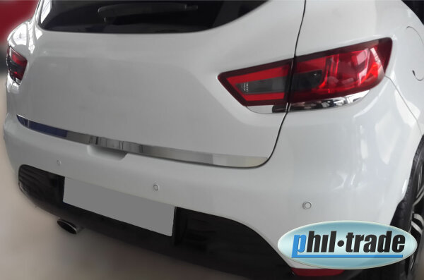 Chrome BAR Cer Blinds For Renault Clio IV Under Rear Stainless Steel Since 2012