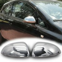 Stainless Steel Chrome Mirror Casing for Opel Corsa D Corsa E Year 2006-2019