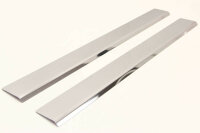 Stainless Steel Door Sill V2A Matte for Mercedes W639 Vito Viano Outside