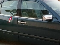 Stainless Steel Window Chrome For W210 1995-2002 4tlg Set