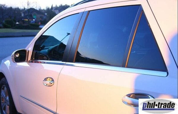 Stainless Steel Window Moulding Chrome for Mercedes M Class W164 2005-2011 4-tlg