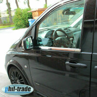 Stainless Steel Window Chrome For Mercedes Vito, V Class W638 1995-2003 2tlg