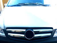 Stainless Steel Grille Trim for Mercedes Vito W639 Facelift / Mopf 2010-2014