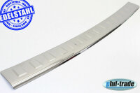 Stainless Steel Boot Sill Chrome for Vauxhall Zafira B 2005-2014 with Splay