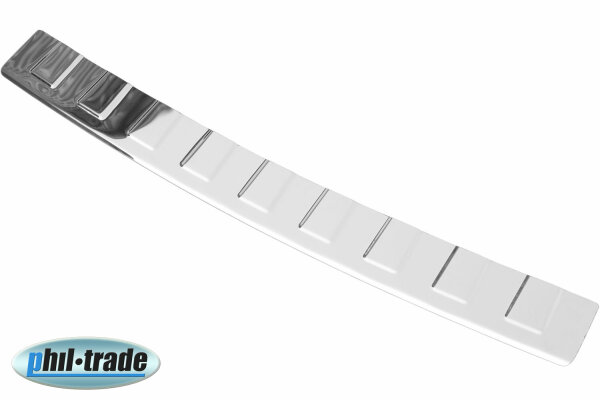 Stainless Steel Boot Edge Protector Polished For VW EOS 2006-2015 With Splay