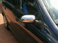 Stainless Steel Mirror Casing Chrome for Opel Corsa C Year 2000-2006