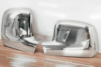 Stainless Steel Mirror Casing Chrome for VW T5 2003-2009...