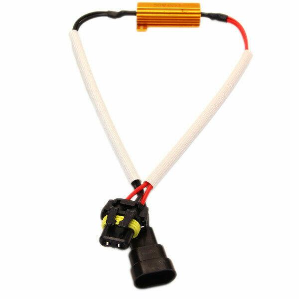 HB3 9005 Canbus Adapter LED SMD Bulb Last Resistor 50Watt No Error Message
