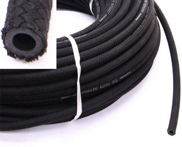 KRAFTSTOFFSCHLAUCH 6mm x 1m | Benzin Diesel Luft Unterdruck Kühlwasser METERWARE