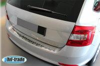 LADEKANTENSCHUTZ EDELSTAHL CHROM für SEAT ALTEA XL |...