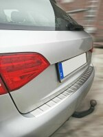 Bumper Stainless Steel Matte for Audi A4 B8,8K Avant 2007-2015 With Splay