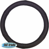 Steering Protector Cover Black Complete Perforated Real...