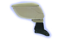 Center Armrest with Compartment for Dacia Sandero Stepway Exact Fit Beige ARM-18