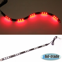 Rote LED Leiste Balken Strip Lichtleiste 12V 30cm 15x...