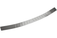 Stainless steel MATT bumper protector for VW Caddy IV...